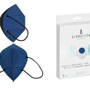 Mascarilla Higiénica Plus Reutilizable Azul