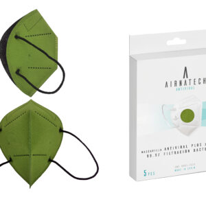 Mascarilla Reutilizable Plus Verde
