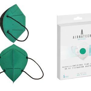 Mascarilla Higiénica Plus Reutilizable Verde B