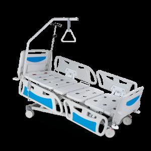 vista general de cama hospital electrica perspectiva 3