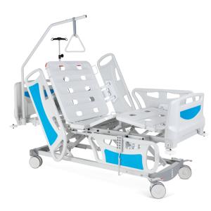vista general de cama hospital electrica