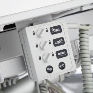 vista ampliada de cama hospital electrica perspectiva 15 nivelator