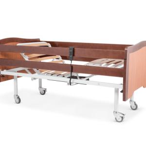 vista general de cama articula de geriatrico modelo vido en forma de tijera con elevador electrico