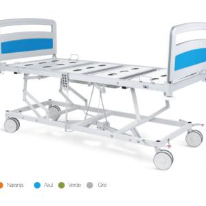 vista general de cama hospital basica