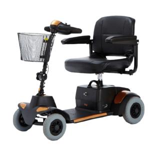scooter momo naranja de teyder