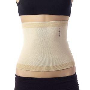 faja termica tubular vista abdomen mujer con faja