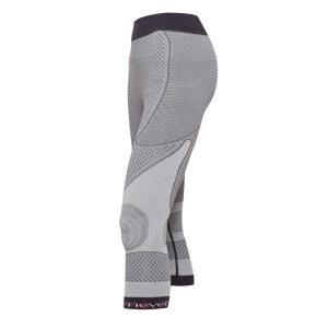 vista general de pantalon corsario shapecell sport reductor gris anticelulitico quema grasas
