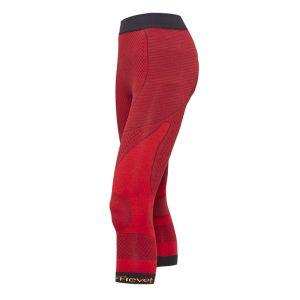 vista general de pantalon corsario shapecell sport reductor rojo anticelulitico quema grasas