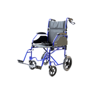 silla de ruedas ligera de aluminio translite uppy vista lateral