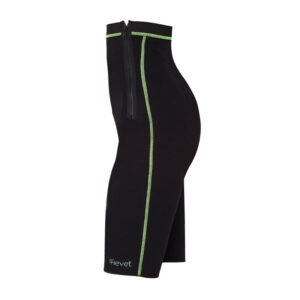 pantalon short pantalon short reductor cremallera anticelilutico de compresion verde agua talla s