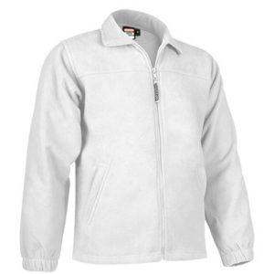 vista general de chaqueta polar dakota color blanco