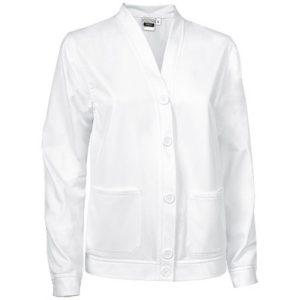 vista general de chaqueta creta de mujer blanco