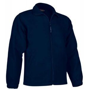 vista general de chaqueta polar dakota color azul marino