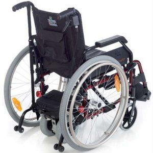 vista de Powerpack plus new control en funcinamiento con una silla de ruedas